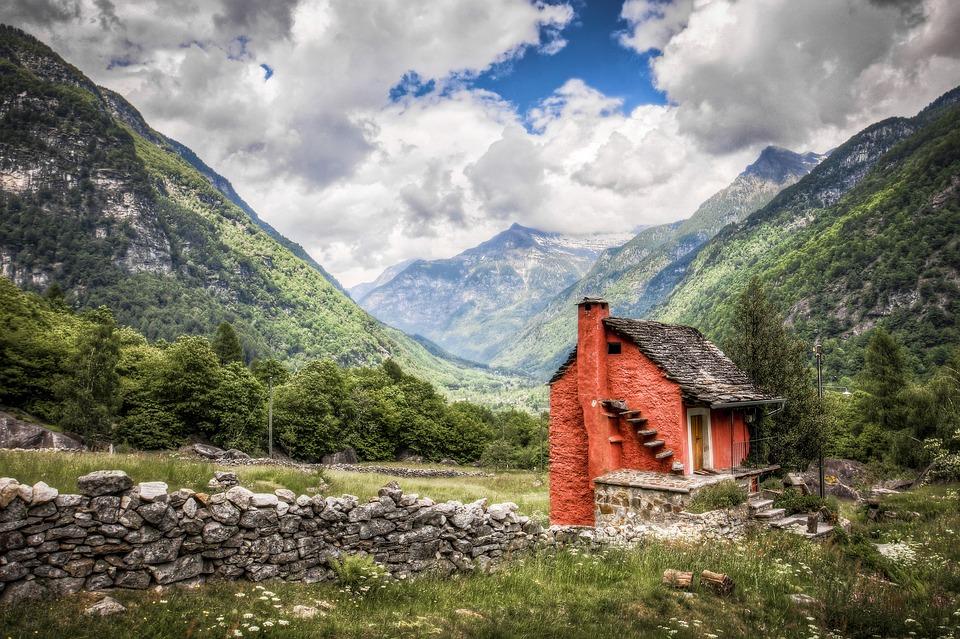 Voyage en montagne.